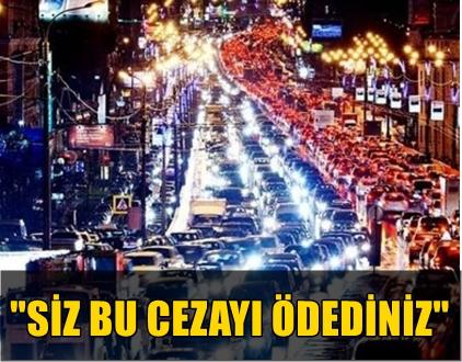"""KURBAN BAYRAMI SÜRESİNCE RADAR CEZASI YOK, """"15 TEMMUZ"""" TEŞEKKÜRÜ VAR!.."""