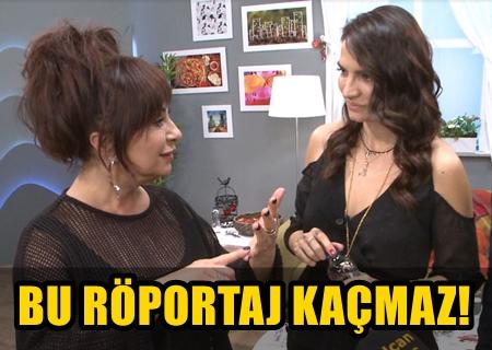 """MİGROS TV'DE """"NİLGÜN BELGÜN İLE '4 KÖŞE'DE"""" EBRU AKEL DAMGASI!"""