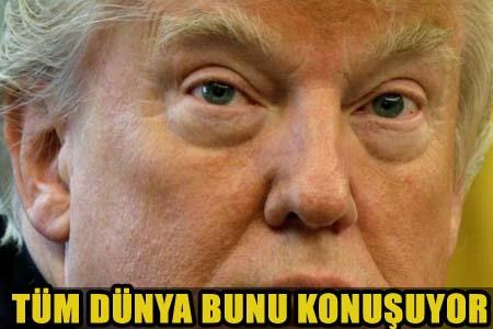 SON DAKİKA! ABD BAŞKANI DONALD TRUMP DUVARA TOSLADI!