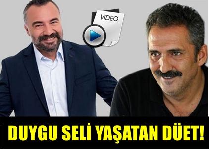 OKTAY KAYNARCA İLE YAVUZ BİNGÖL'ÜN DÜETİ MUHTEŞEM GECEYE DAMGASINI VURDU!..