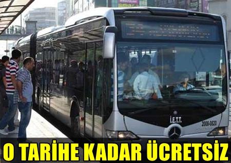 İBB MECLİSİ'NDE YAPILAN OYLAMA SONUCU  İSTANBUL'DA ÜCRETSİZ TOPLU ULAŞIM TARİHİ İKİNCİ KEZ UZATILDI!..