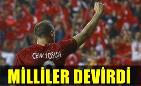 TÜRKİYE, İSVEÇ'İ ANTALYA'DA TOSUN'UN GOLLERİYLE YENDİ!..
