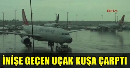İSTANBUL'DA HAVA ULAŞIMINA YAĞMUR VE RÜZGAR ENGELİ! THY UÇAĞI PİSTİ PAS GEÇTİ!..