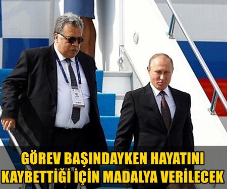 RUSYA DEVLET BAŞKANI VLADIMIR PUTIN, RUSYA'NIN ANKARA BÜYÜKELÇİSİ ANDREY KARLOV'A, DEVLET MADALYASI VERİLMESİ İÇİN TALİMAT VERDİ!..
