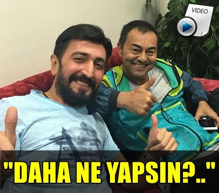 """""""SAHNE TARİHİNDE BİR İLK OLDU!.."""" FERMAN TOPRAK'TAN SERDAR ORTAÇ'A ÇİĞ KÖFTE SÜRPRİZİ!.."""