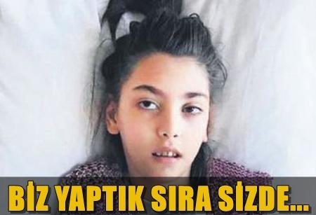 CEYDA DÜVENCİ HASTA OLAN DİĞER ÇOCUKLARI DA UNUTMADI!..