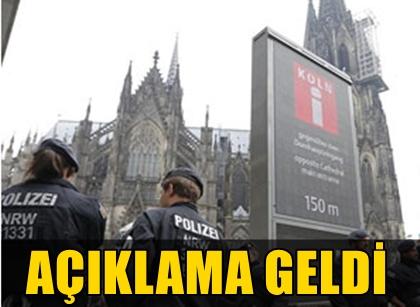 ALMANYA'NIN KÖLN ŞEHRİNDEKİ TREN İSTASYONU BOMBA TEHDİDİ ÜZERİNE BOŞALTILDI!  ALMAN YETKİLİDEN AÇIKLAMA GELDİ!..