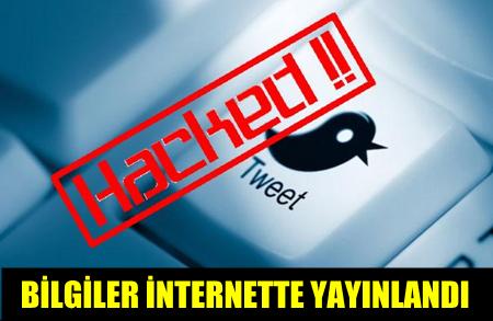 TWITTER'IN BAŞI HACKER'LAR İLE DERTTE!..32 MİLYON TWITTER KULLANICISI HACK'LENDİ!..