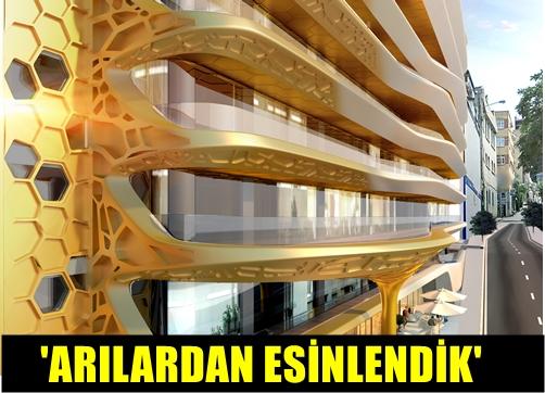 DAP YAPI'DAN BAL GİBİ PROJE!.. ARILARIN MÜHENDİSLİK HARİKASI İSTANBUL'UN MERKEZİNDE PROJEYE DÖNÜŞTÜ!..