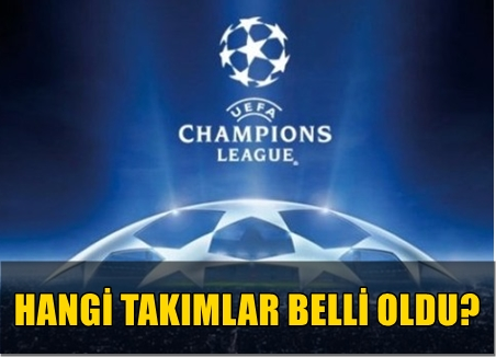 UEFA ŞAMPİYONLAR LİGİ'NDE GRUPLARA KALAN 5 TAKIM BELLİ OLDU! İŞTE SONUÇLAR VE MAÇ PROGRAMI!..