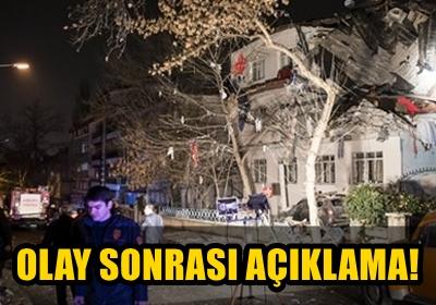 ANKARA EMNİYETİ'NDEN PATLAMA İLE İLGİLİ İLK AÇIKLAMA!