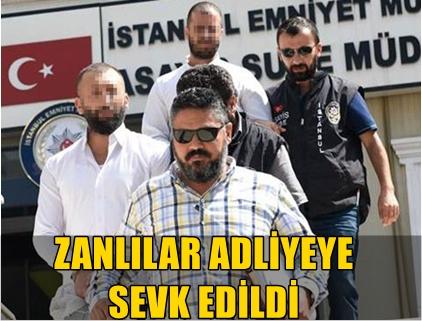 METE YARAR'A SİLAHLI SALDIRIDA BULUNAN ZANLILAR ADLİYEYE SEVK EDİLDİ!..