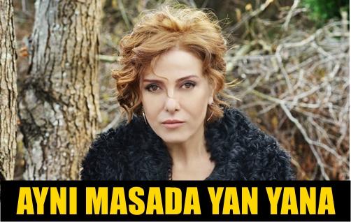 ARTIK İNKAR EDEMEZ!.. ZUHAL OLCAY SEVGİLİSİ MAZLUM ÇİMEN'LE OBJEKTİFE BÖYLE POZ VERDİ!..
