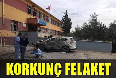 KİLİS'TE KENT MERKEZİNE ROKET DÜŞTÜ! YARALILAR VAR!..