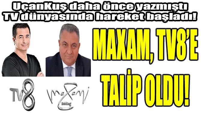 MAXAM, TV8'E TALİP OLDU! - Uçankuş
