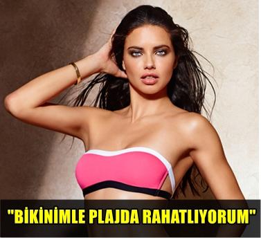 VICTORIA SECRET MELEĞİ ADRIANA LIMA'NIN PLAJ FOTOĞRAFI SOSYAL MEDYADA BÜYÜK İLGİ GÖRDÜ!..