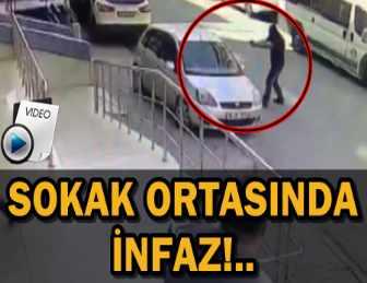 MASKELİ SALDIRGAN OTOMOBİLDEKİ KİŞİYE KURŞUN YAĞDIRDI!..