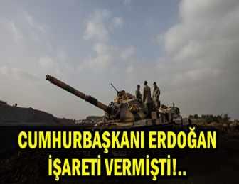 AFRİN İLÇE MERKEZİNDE OPERASYON BAŞLADI!..