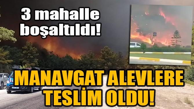 MANAVGAT ALEVLERE TESLİM OLDU!