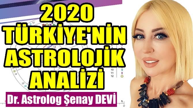 2020 TÜRKİYE'NİN ASTROLOJİK ANALİZİ