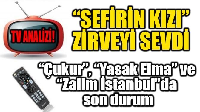 """RATINGLER BELLİ OLDU! """"SEFİRİN KIZI"""" ZİRVEYİ SEVDİ!"""