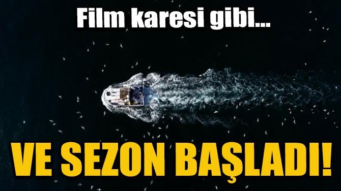 VE SEZON BAŞLADI!