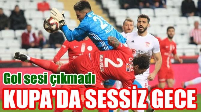 KUPA'DA SESSİZ GECE