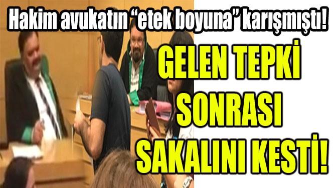 GELEN TEPKİ SONRASI SAKALINI KESTİ!