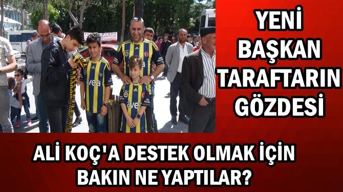 FB'Lİ TARAFTARLAR ALİ KOÇ'A DESTEK OLMAK İÇİN BAKIN NE YAPTI!