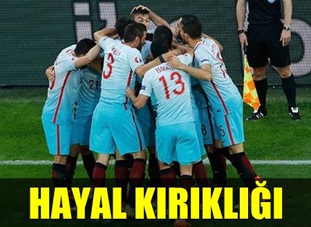 EURO 2016'YA VEDA!.. A MİLLİ FUTBOL TAKIMIMIZ GRUPTAN ÇIKAMADI!..