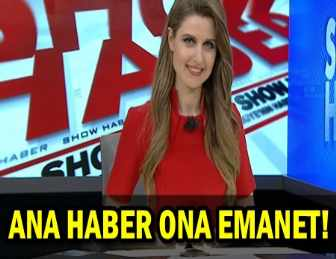 SHOW TV'NİN YENİ ANA HABER SUNUCUSU BELLİ OLDU!
