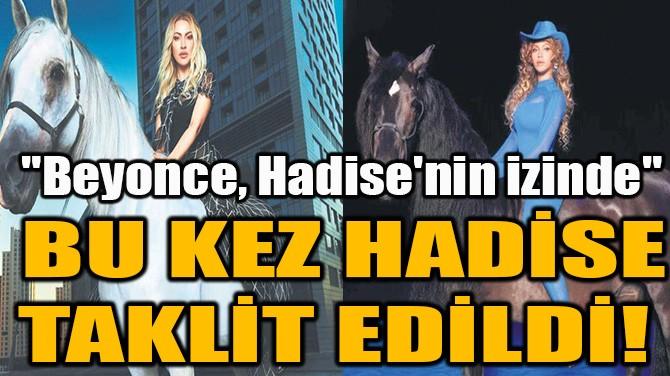 BU KEZ HADİSE TAKLİT EDİLDİ!
