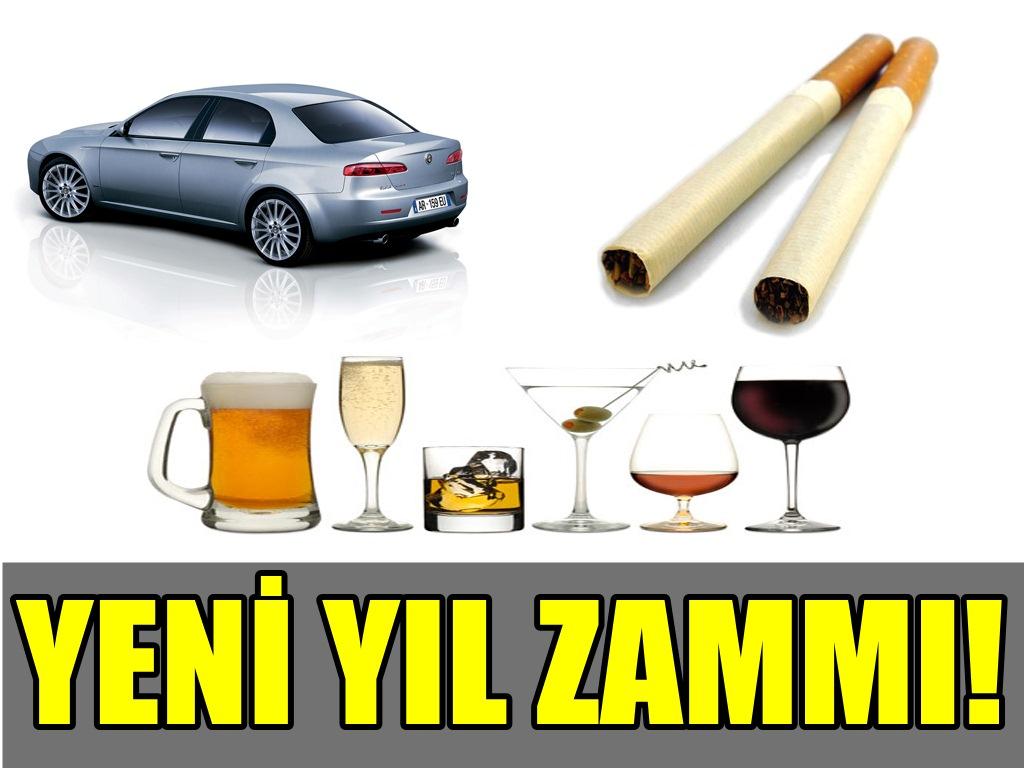 YENİ YILLA BİRLİKTE YENİ ZAMLARDA GELDİ!