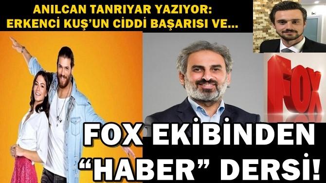 """FOX EKİBİNDEN """"HABER"""" DERSİ!"""