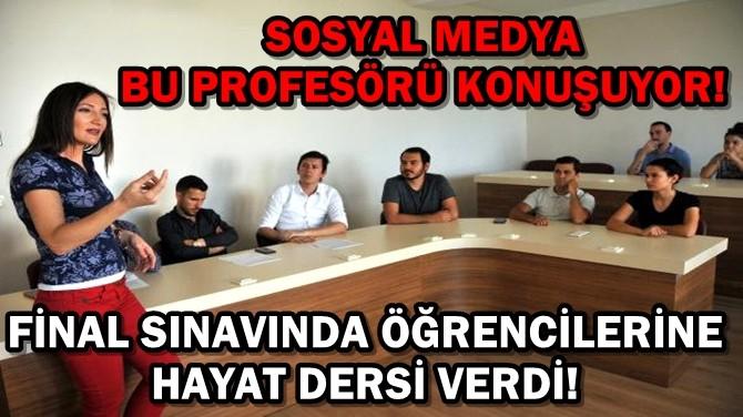 SOSYAL MEDYA BU PROFESÖRÜ KONUŞUYOR!