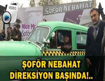 FATMA GİRİK'E, ŞOFÖR NEBAHAT'Lİ DOĞUM GÜNÜ!..