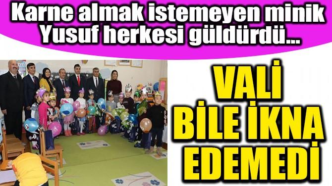 MİNİK YUSUF'UN KARNE FOBİSİ!