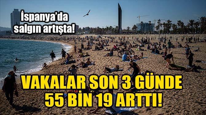 VAKALAR SON 3 GÜNDE 55 BİN 19 ARTTI!