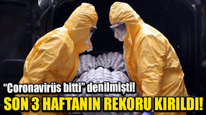 SON 3 HAFTANIN REKORU KIRILDI!