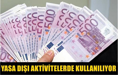 """AVRUPA MERKEZ BANKASI, """"500 AVRO"""" BANKNOTLARININ TEDAVÜLDEN KALDIRILACAĞINI AÇIKLADI!.."""