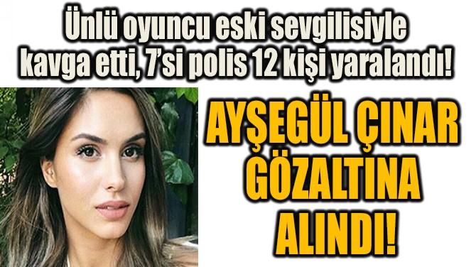 AYŞEGÜL ÇINAR GÖZALTINA  ALINDI!