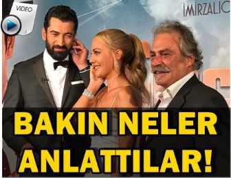 """MERAKLA BEKLENEN """"CİNGÖZ RECAİ"""" FİLMİNİN GALASI YAPILDI!.."""
