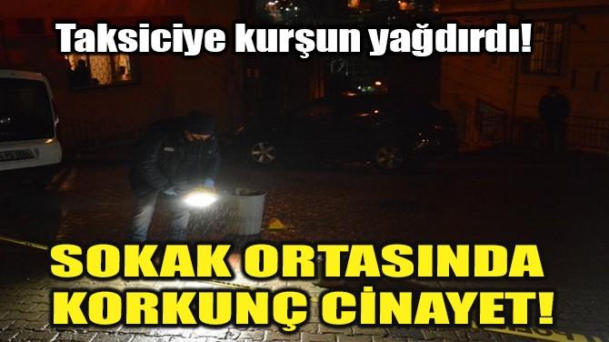 SOKAK ORTASINDA KORKUNÇ CİNAYET!