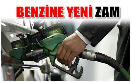 FLAŞ! BENZİNE ART ARDA İKİNCİ ZAM GELDİ!