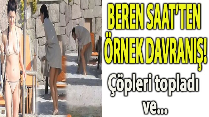 BEREN SAAT'İN DENİZ SEFASI!
