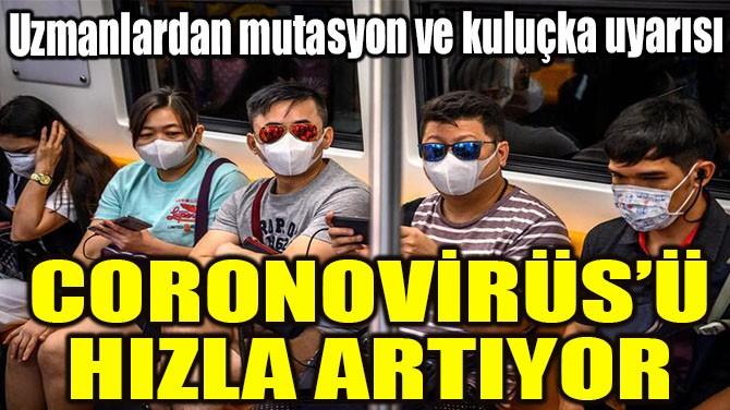 CORONOVİRÜS'Ü MÜHÜR TUTMADI