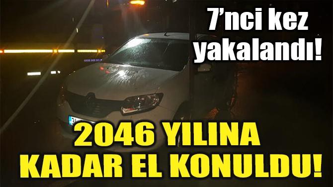2046 YILINA KADAR EL KONULDU!