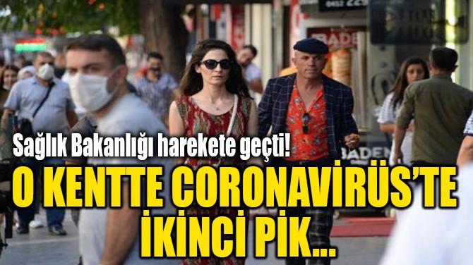 O KENTTE CORONAVİRÜS'TE  İKİNCİ PİK...
