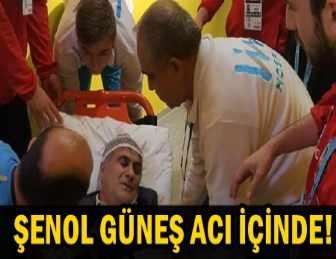 ŞENOL GÜNEŞ, AMBULANSLA HASTANEYE KALDIRILDI!