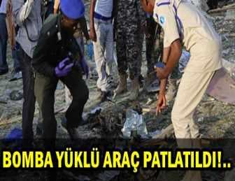 SOMALİ'DE BOMBALI SALDIRI!.. 14 ÖLÜ, 20 YARALI!..